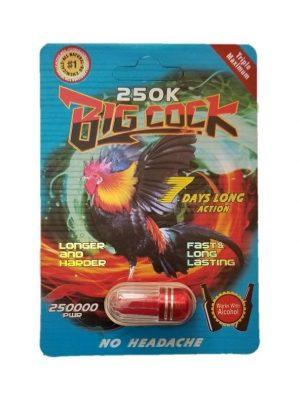 Big Cock 250K Male Enhancement Pill
