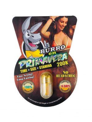 Burro En Primavera 200K Pill