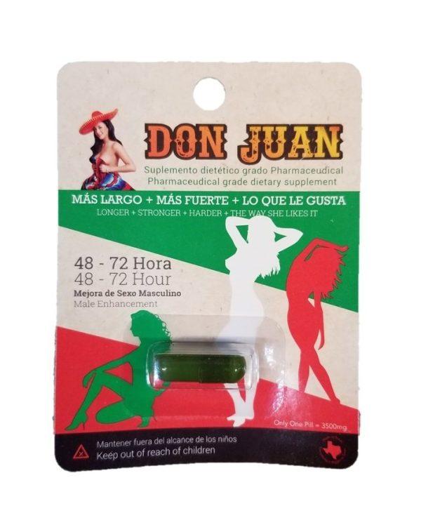 Don Juan Male Enhancement Pills