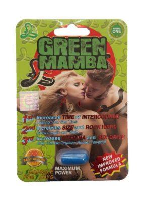 Green Mamba Male Enhancement Pills
