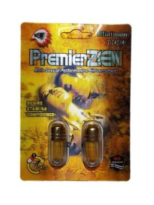 Premier Zen Platinum 100K Gold (2 Pills)