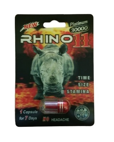 Rhino 11 Platinum 30000 Male Enhancement Pills
