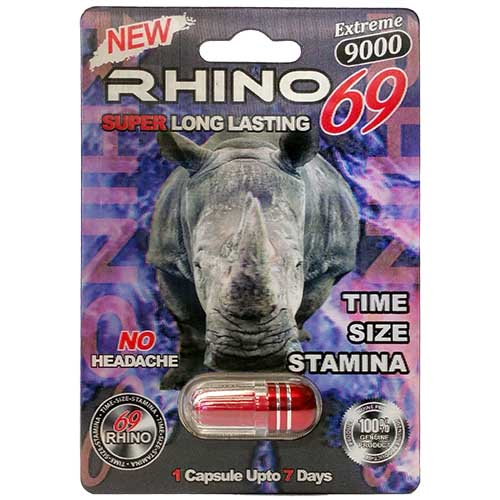 Rhino 69 Extreme 9000 Male Enhancement Pill | Visible Deals
