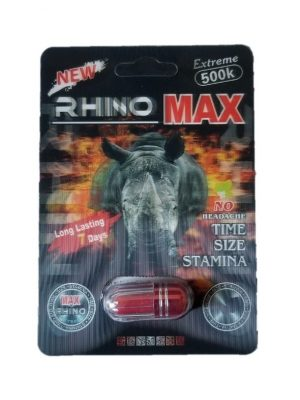 Rhino Max Extreme 500K Male Enhancement Pill