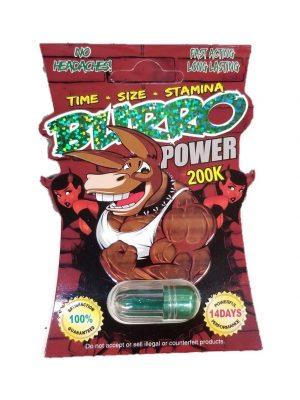 Burro Power 200K Male Enhancement Pill