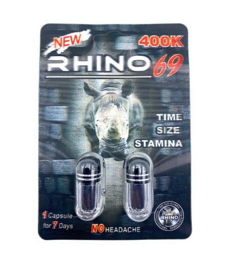 Rhino 69 400K Male Enhancement (2 Pills) | Visible Deals