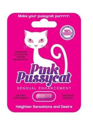 Pink Pussycat Female Sensual Enhancement Pill