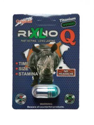 Rhino XL Q Titanium 99900 Male Enhancement Pill
