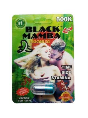 Black Mamba Premium 500K Male Enhancement Pill