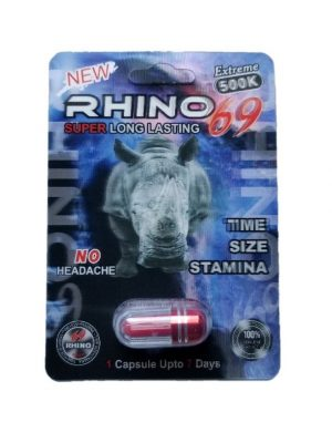 Rhino 69 Extreme 500K Male Enhancement Pills