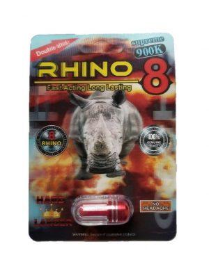 Rhino 8 Supreme 900K Male Enhancement Pill