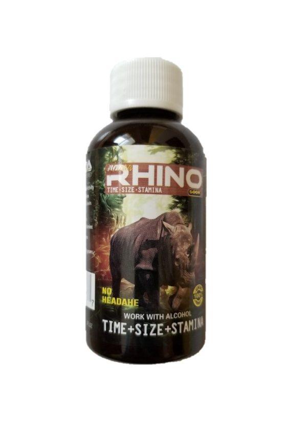 African Rhino 600K Male Enhancement Bottles