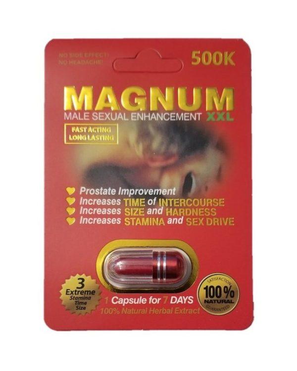 Magnum 500K Male Enhancement Pills (Red)