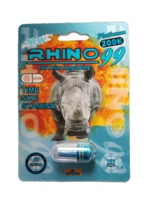 Rhino 99 Platinum 200K Male Enhancement Pills