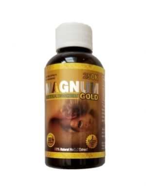 Magnum 250K Gold Male Enhancement Bottles
