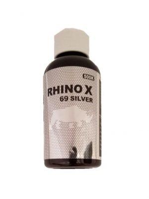 Rhino X 69 Silver 500K Male Enhancement Bottles