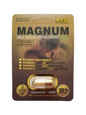 Magnum 50K Gold Male Enhancement Pill