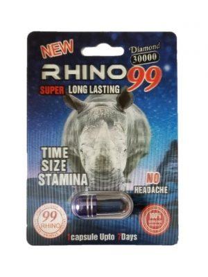 Rhino 99 Diamond 30000 Male Enhancement Pill