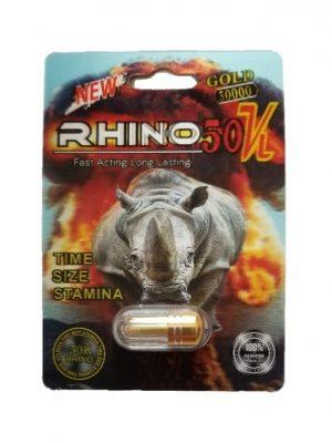 Rhino 50K Gold 50000 Male Enhancement Pill