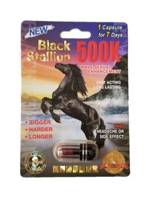 Black Stallion 500K Male Enhancement Pill