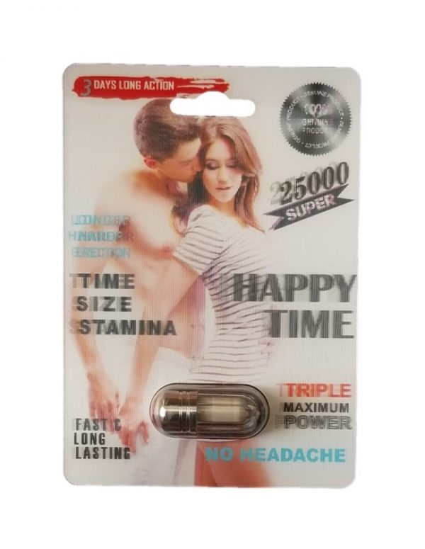 Happy Time Super 25000 Male Enhancement Pill