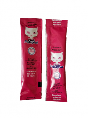 Pink Pussycat Honey Female Sensual Packet
