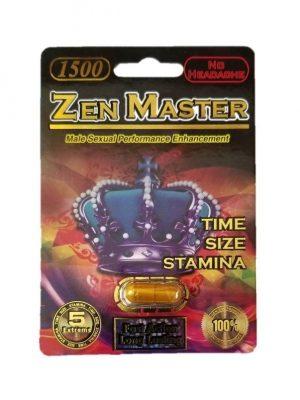 Zen Master 1500 Male Enhancement Pill