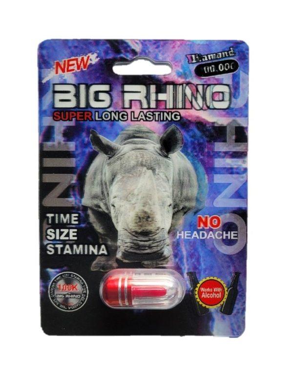 Big Rhino Diamond 100K Male Enhancement Pills