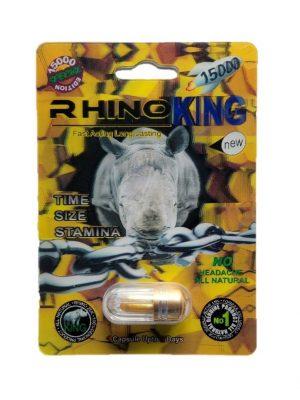 Rhino King 15000 Special Edition Male Enhancement Pill